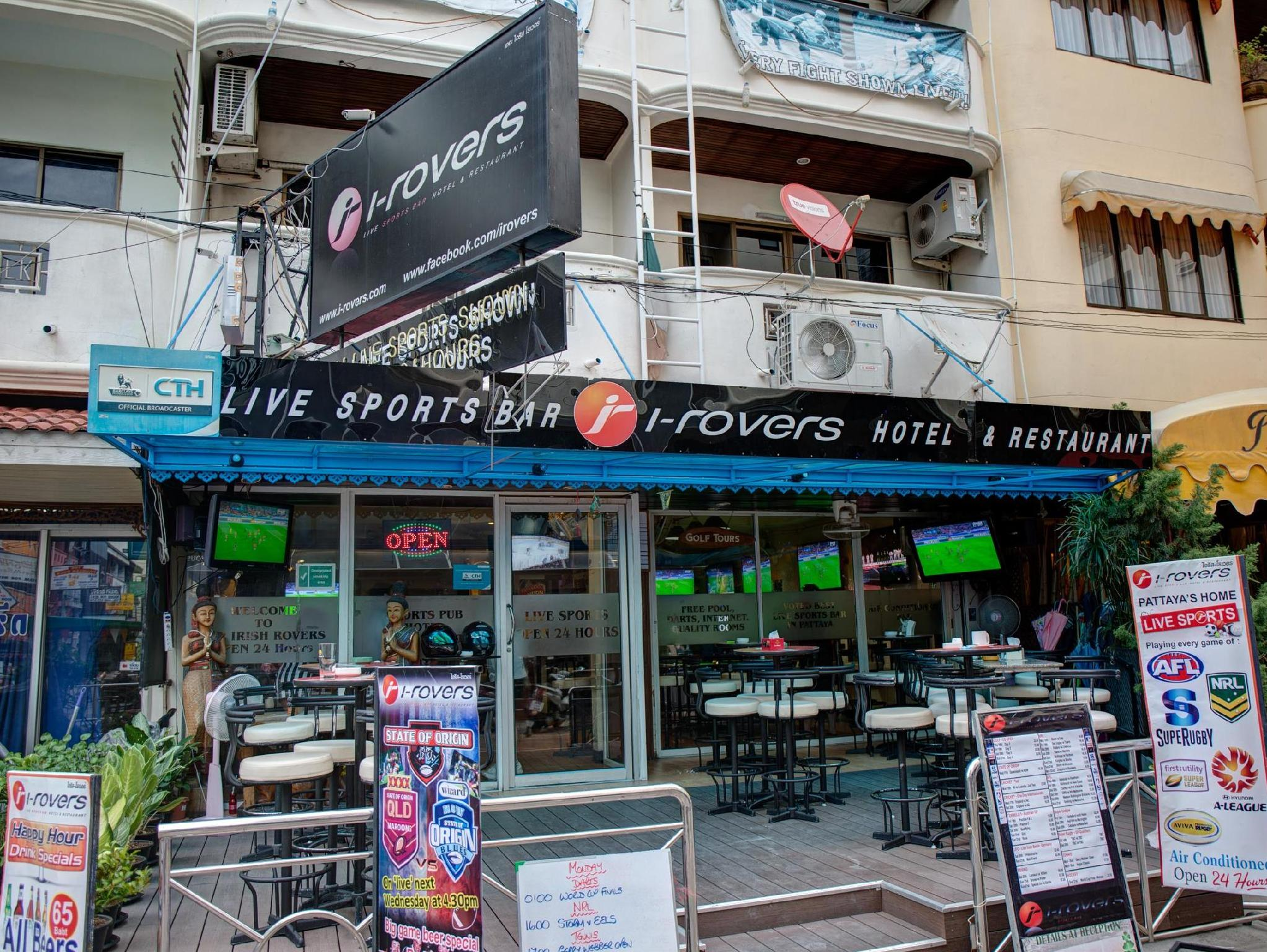 I-Rovers Sports Bar & Hotel - Hotels and Accommodation in Thailand, Asia