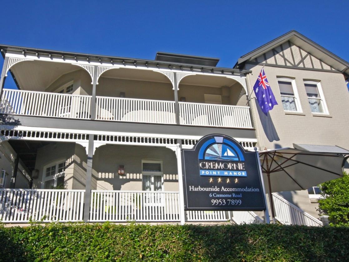 Cremorne Point Manor Hotel - Hotell och Boende i Australien , Sydney