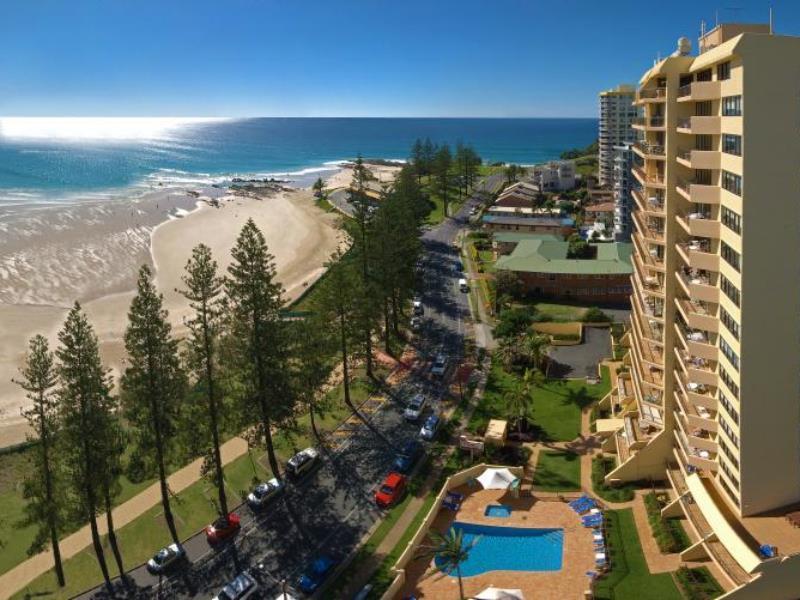 Columbia Apartments on Rainbow Bay - Hotell och Boende i Australien , Guldkusten