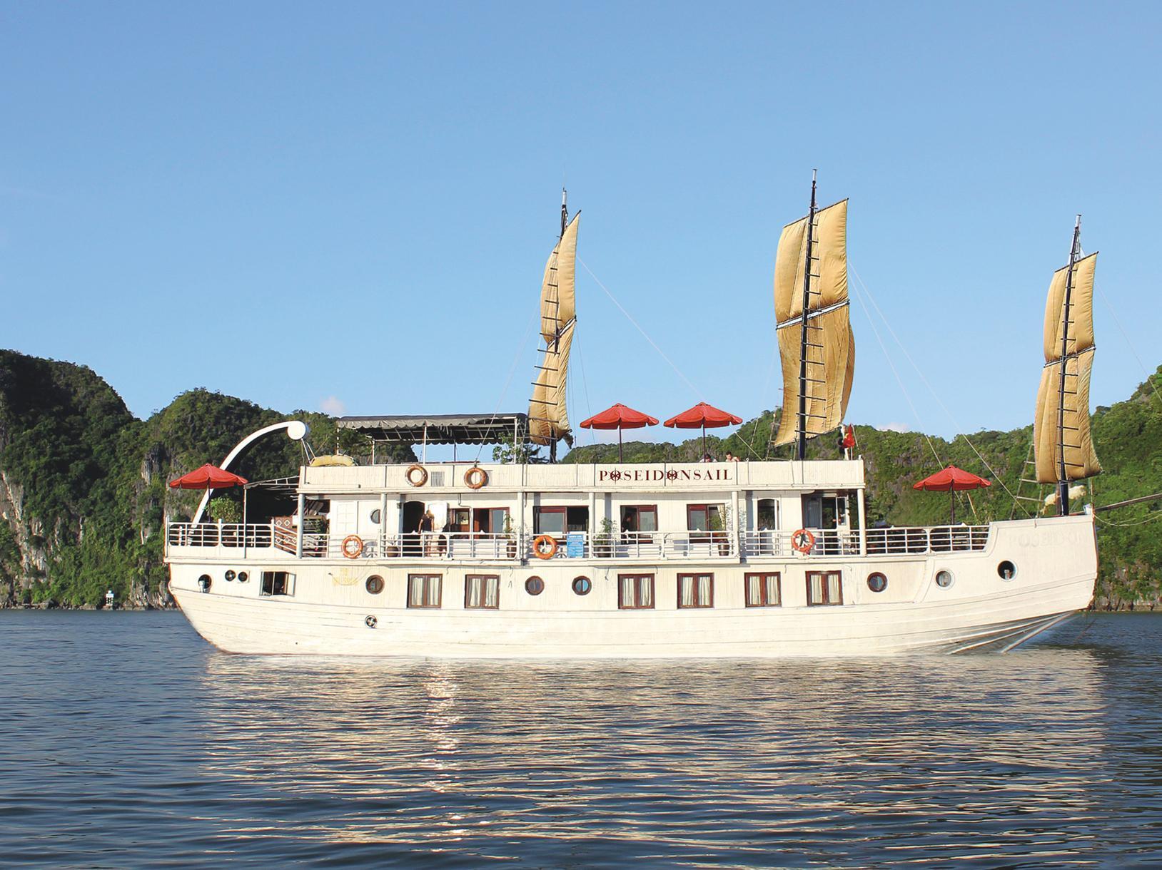Halong Poseidon Sail - Hotell och Boende i Vietnam , Halong