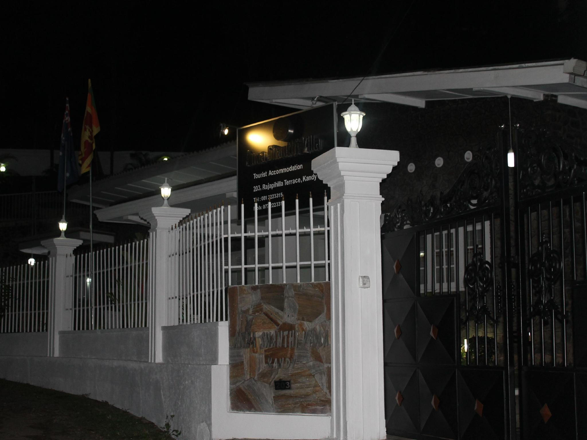 Anna Shanthi Villa
