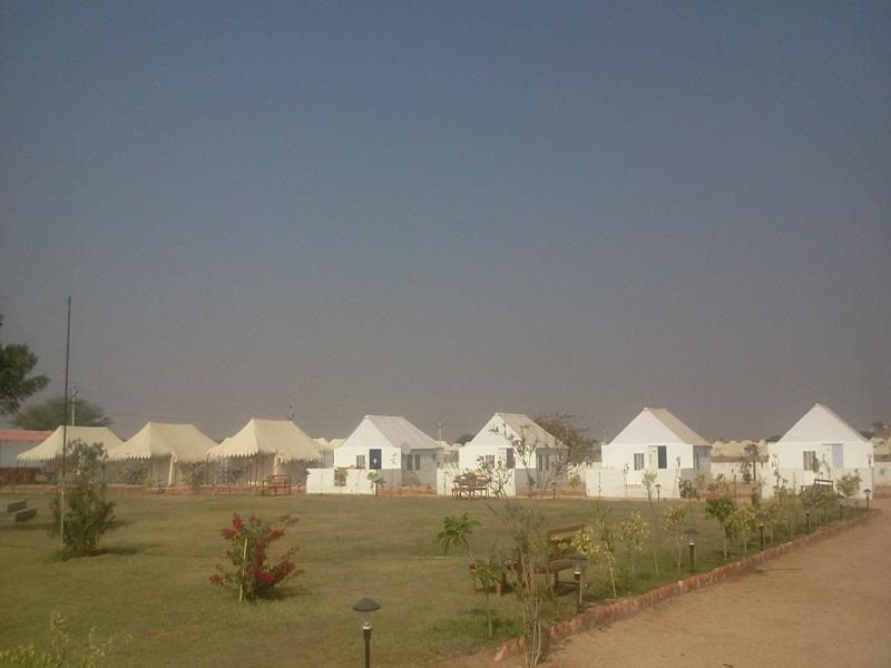Camp Rose Villa - Hotel and accommodation in India in Jaisalmer