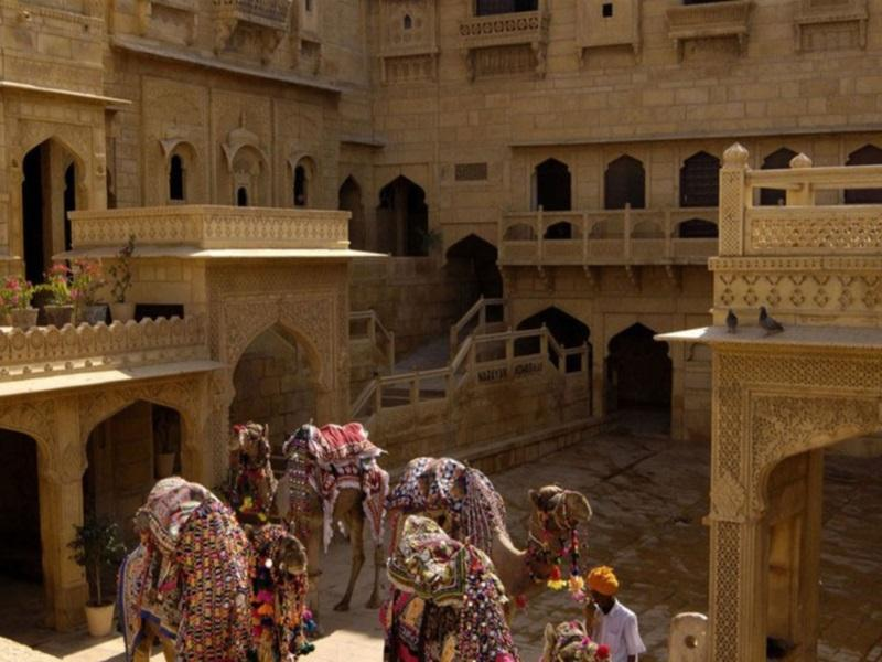 Hotel Narayan Niwas Palace - Hotel and accommodation in India in Jaisalmer