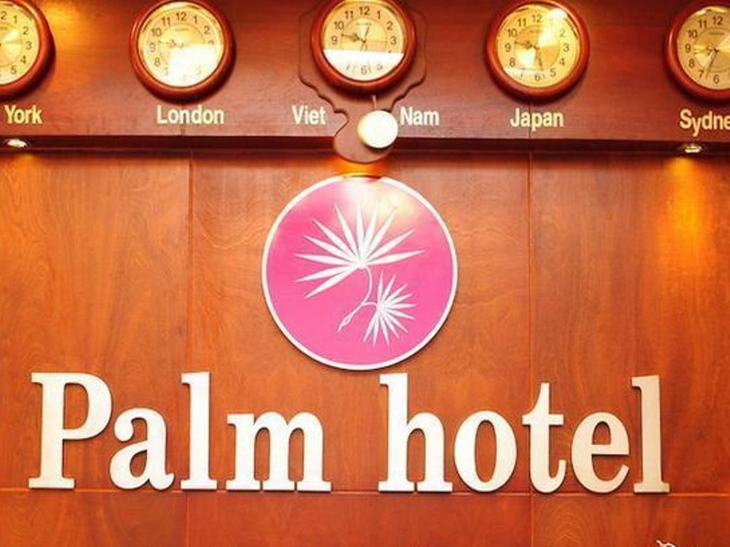Palm Hotel Ho Chi Minh City - Entrance