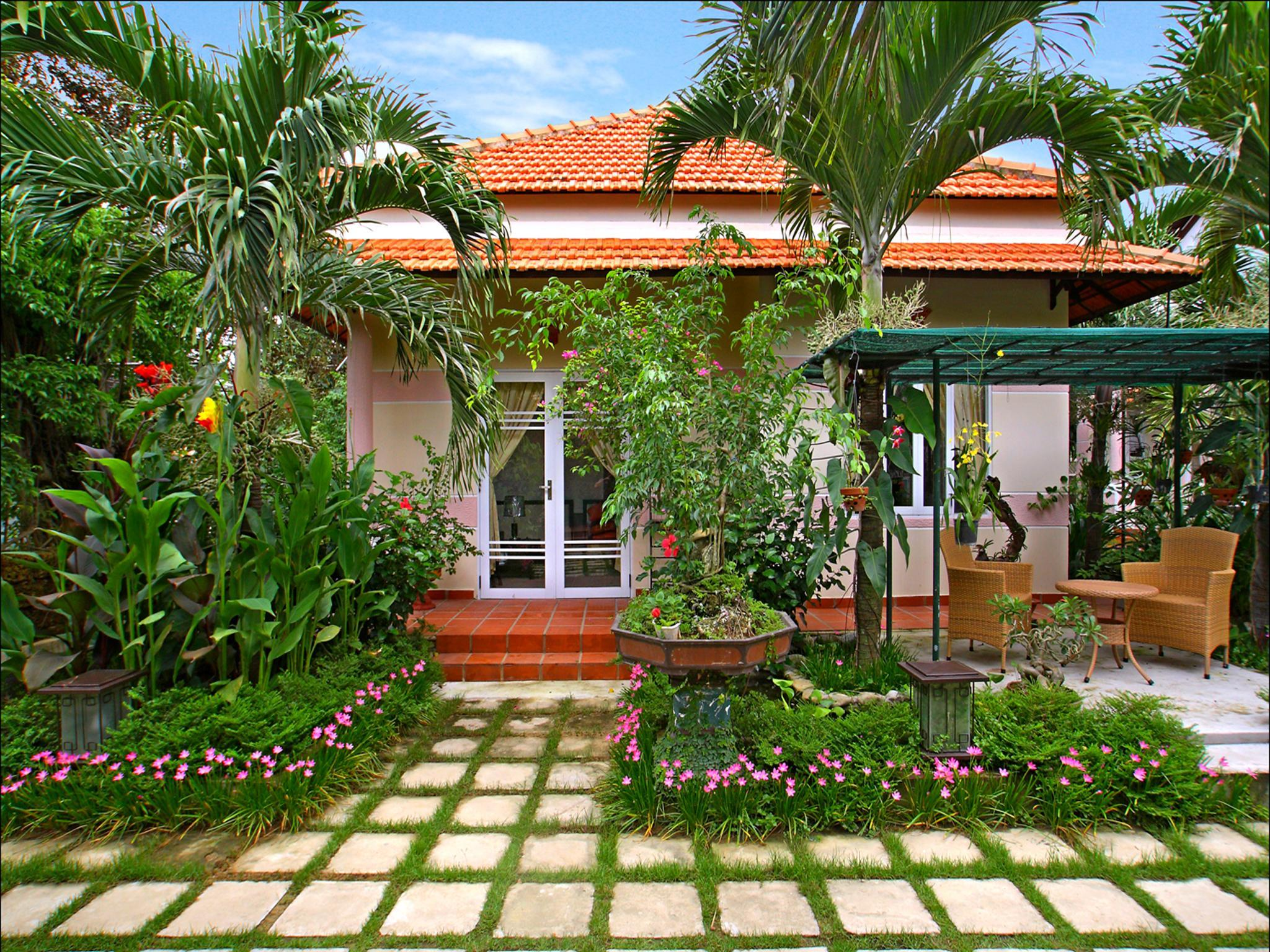 Hoi an botanic garden villas cam chau hoi an vietnam for Gardens and villa