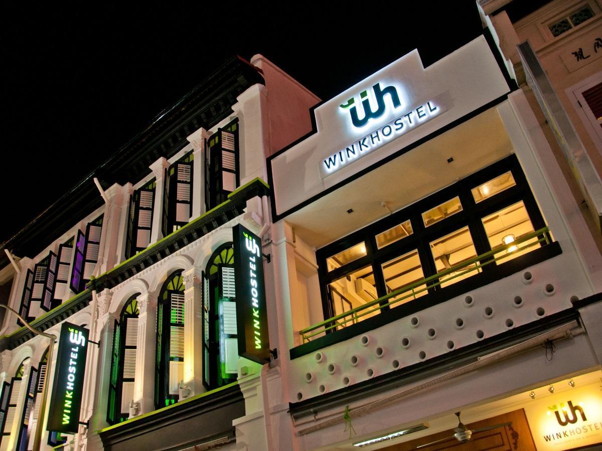 Wink Hostel Singapore - Hostel Facade