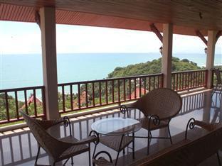 Lanta Residensea Villas Koh Lanta - Pool House B 4 Bedrooms- balcony