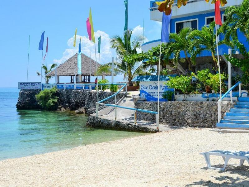 Blue Corals Beach Resort سيبو