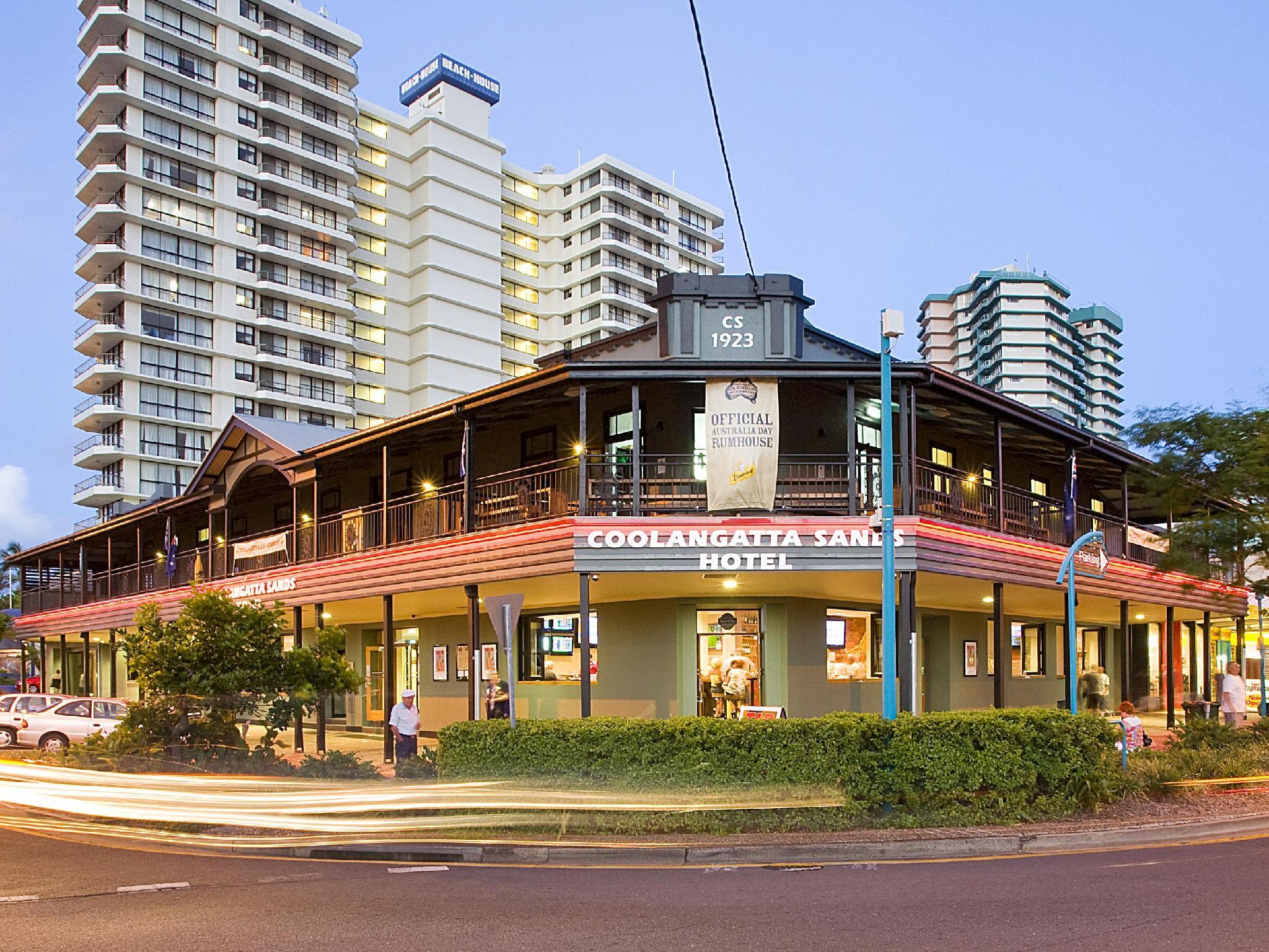 Coolangatta Sands Hostel - Hotell och Boende i Australien , Guldkusten