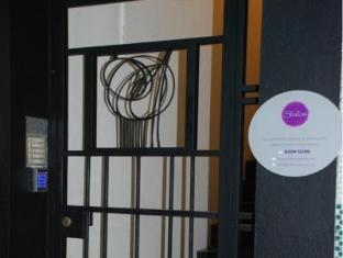 Shalom Serviced Apartments - Soho Central Hongkong - Utsiden av hotellet