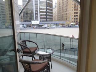City Stay Hotel Apartment Дубай - Балкон/Тераса