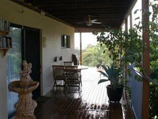 艾爾利灘亞拉早餐民宿 聖靈島 - 陽台
