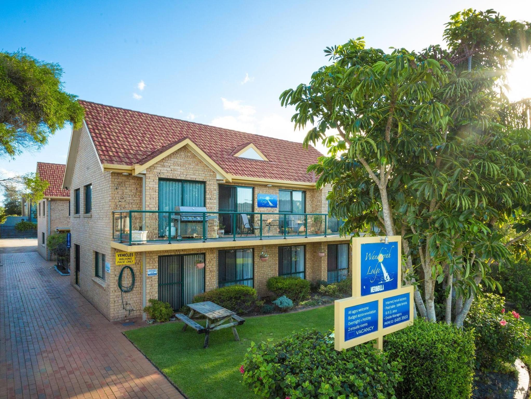 Wandarrah Lodge / Merimbula Yha - Hotell och Boende i Australien , Merimbula