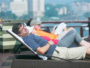 Halong Eclipse Cruise Halong - Relax on Sundeck