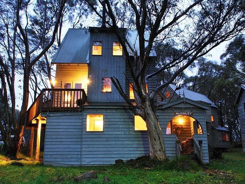McKinley Private Holiday Chalet - Hotell och Boende i Australien , Dinner Plain