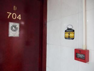 Singh Guest House Hong Kong - Room Door & Fire Alarm System