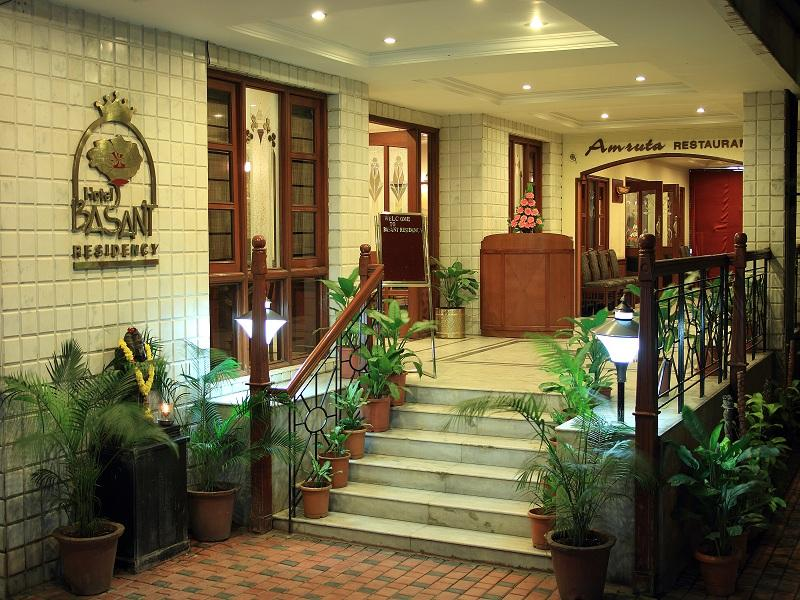Hotel Basant Residency - Hotel and accommodation in India in Bengaluru / Bangalore