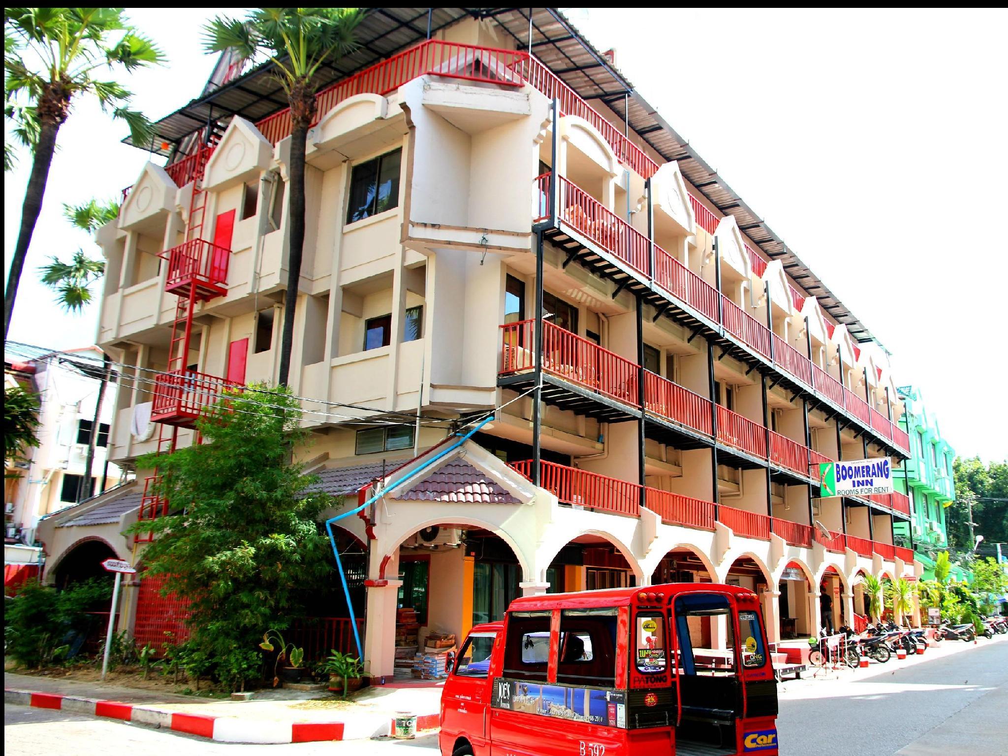 Hotell Boomerang Inn i Patong, Phuket. Klicka för att läsa mer och skicka bokningsförfrågan
