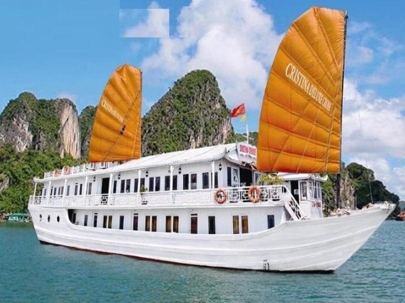 Halong Cristina Deluxe Cruise - Hotell och Boende i Vietnam , Halong