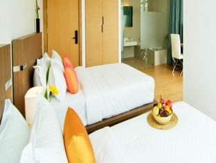 Seven Zea Chic Hotel Pattaya - Deluxe City view Twin Bed