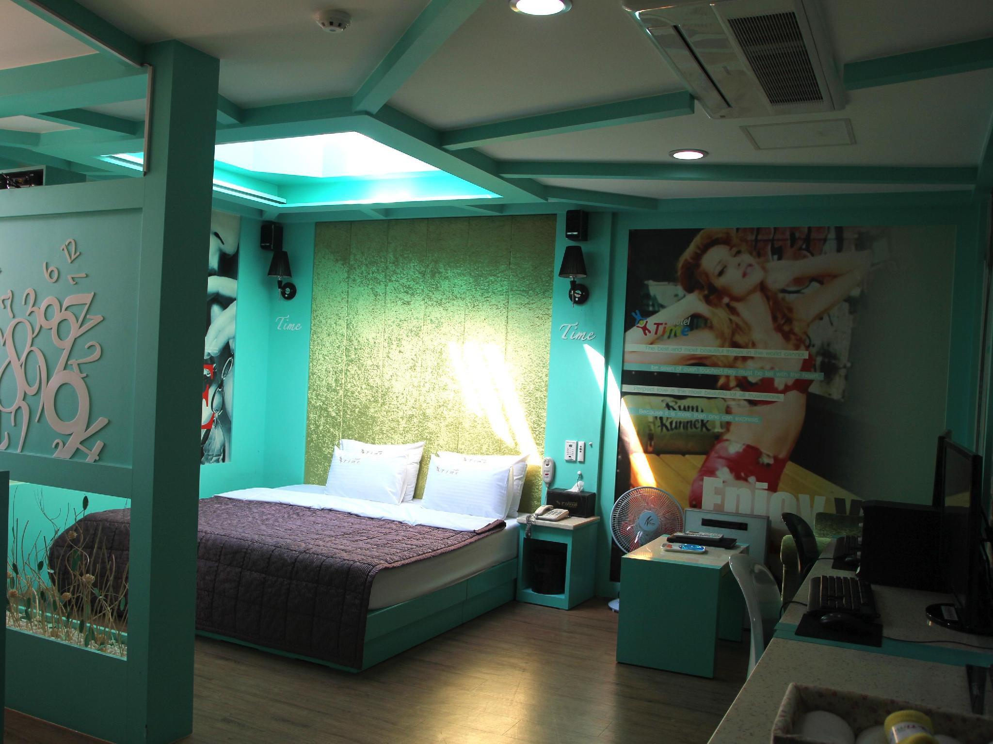 โรงแรม ไทม์ โมเต็ล เกียงจู  (Time Motel Gyeongju)