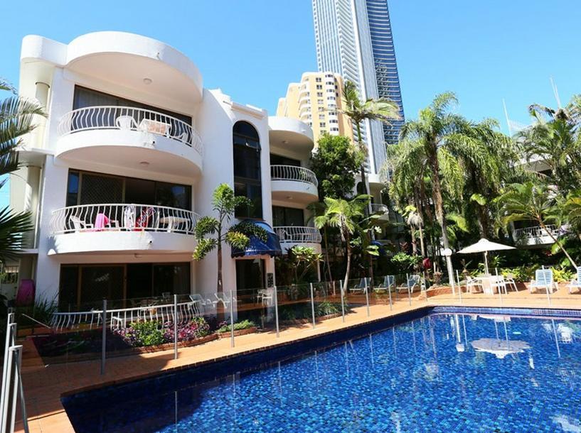 St Tropez Resort - Hotell och Boende i Australien , Guldkusten