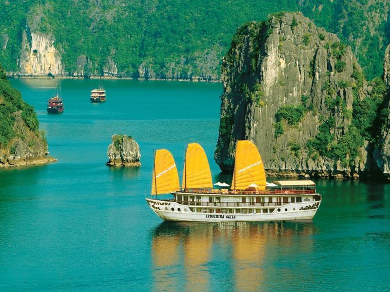 Indochina Sails - Hotell och Boende i Vietnam , Halong