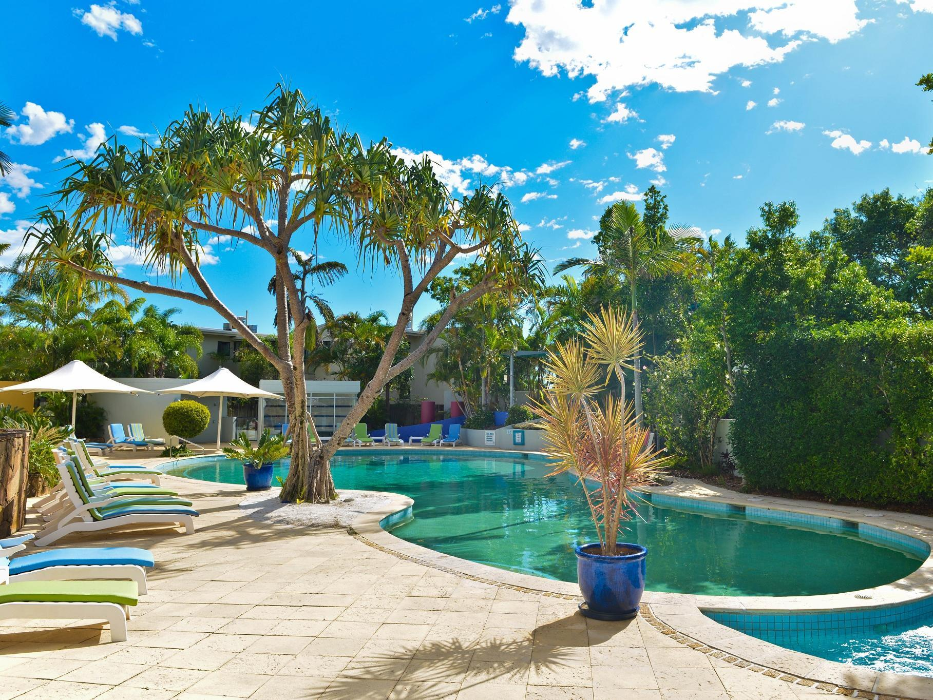 Noosa Blue Resort - Hotell och Boende i Australien , Noosa