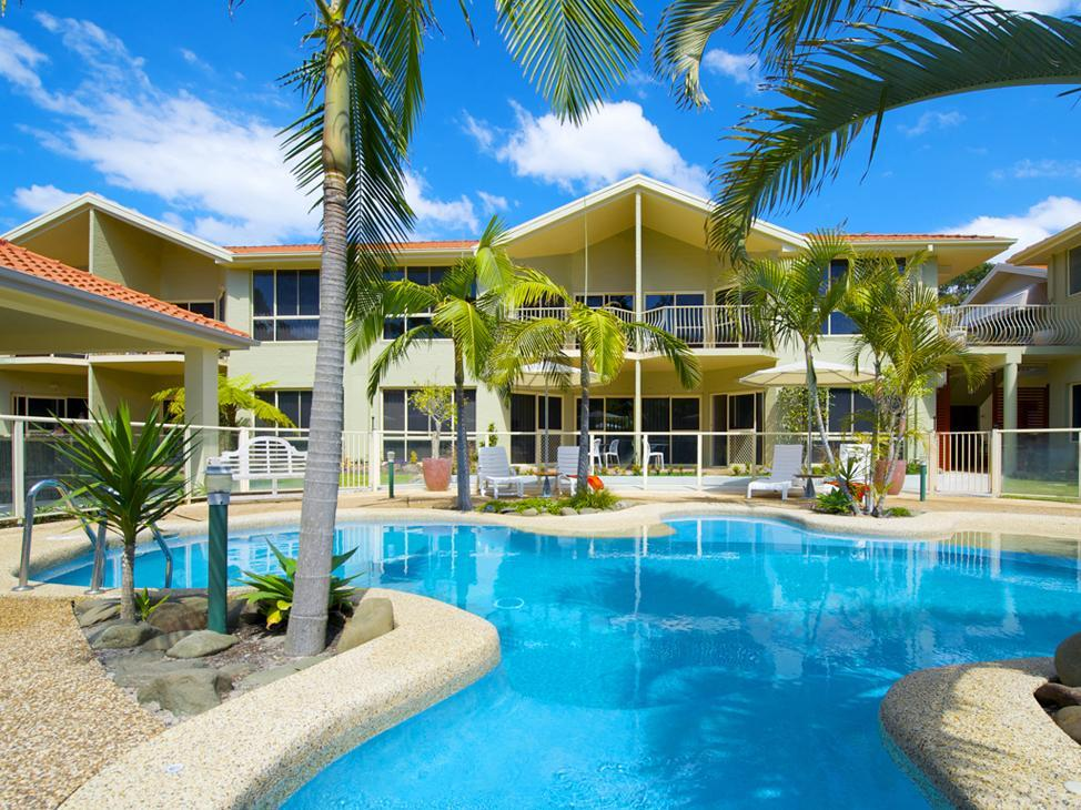 Marty s At Little Beach Apartments - Hotell och Boende i Australien , Port Stephens