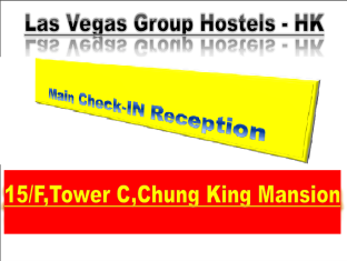 New Hong Kong Hostel - Las Vegas Group Hostels HK Hong Kong - Hotel Check-In Main Address
