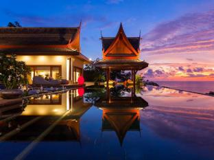 Villa Baan Phu Prana Phuket - Swimming pool night time