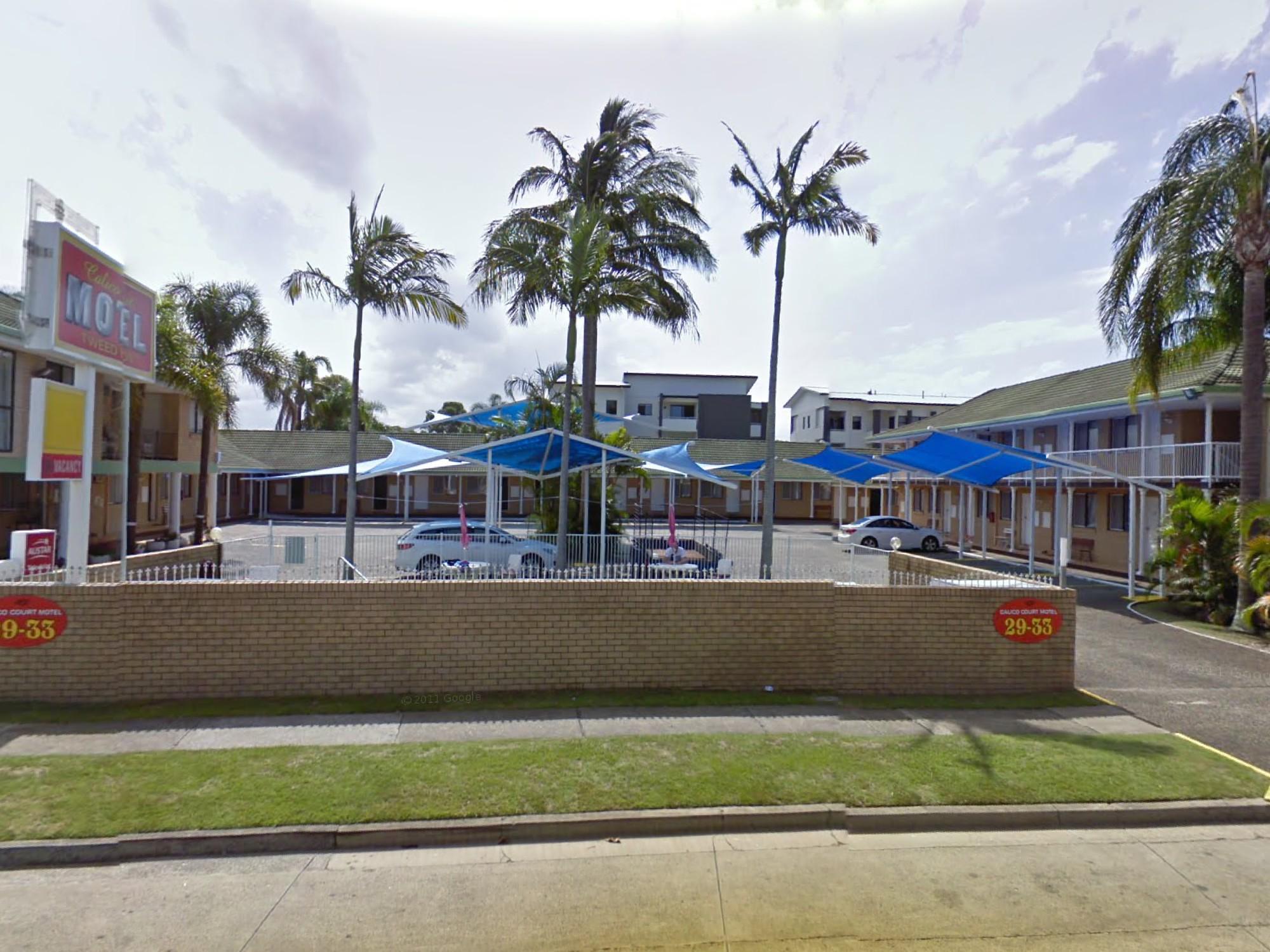 Calico Court Motel - Hotell och Boende i Australien , Guldkusten