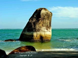 Villa Pulau Besar Malacca / Melaka - Sailing Rock that came from the sea