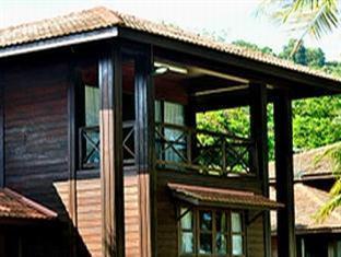 Villa Pulau Besar Malacca / Melaka - Upper balcony at Villa