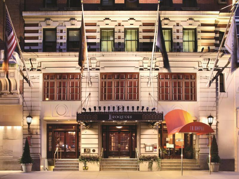 The Iroquois New York Hotel - Hotel and accommodation in Usa in New York (NY)
