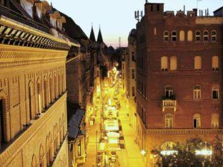 Hostel Goodmo Budapest - Dorm view at night