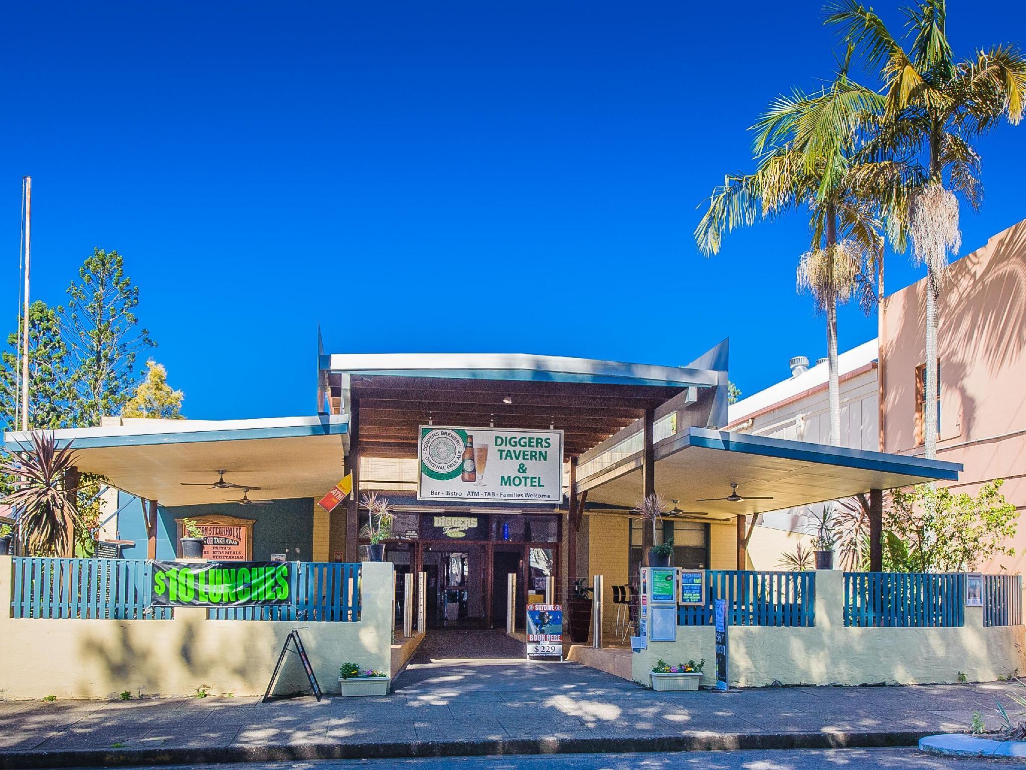 Diggers Tavern Hotel - Hotell och Boende i Australien , Bellingen