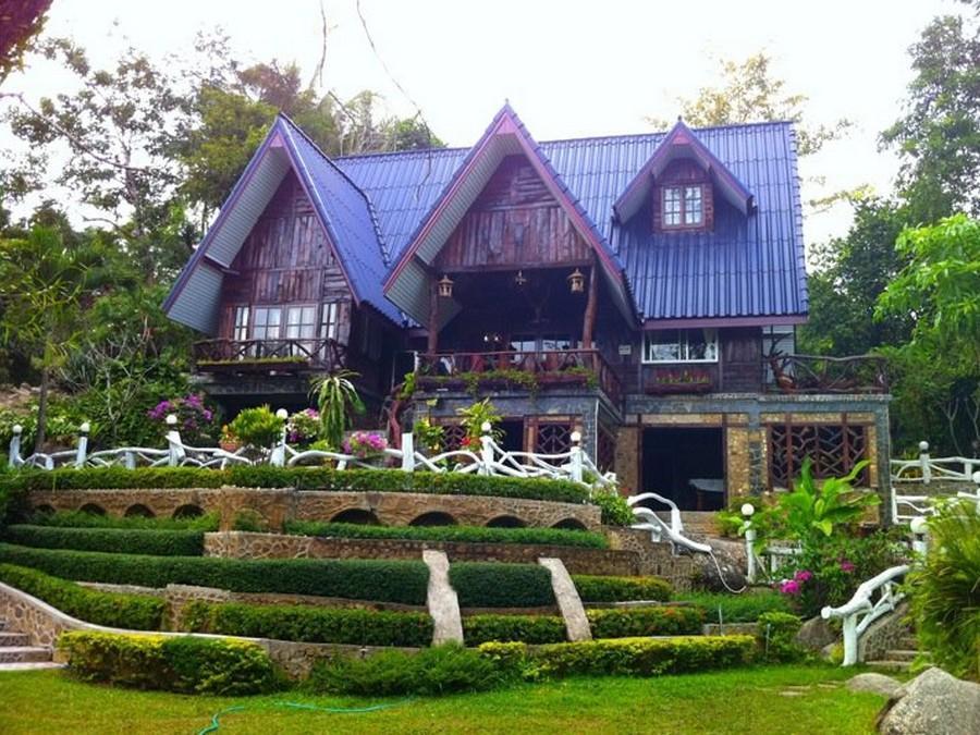 บ้านฟ้าใส รีสอร์ท : ที่พักสวนผึ้ง จ.ราชบุรี