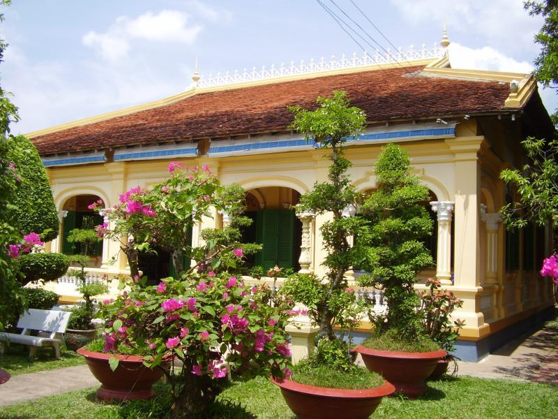 Ba Duc Ancient House - Cai Be (Tien Giang)