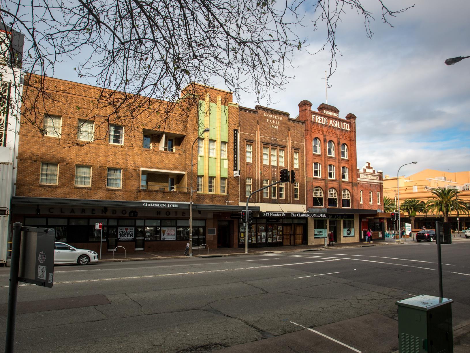 The Clarendon Hotel - Hotell och Boende i Australien , Newcastle