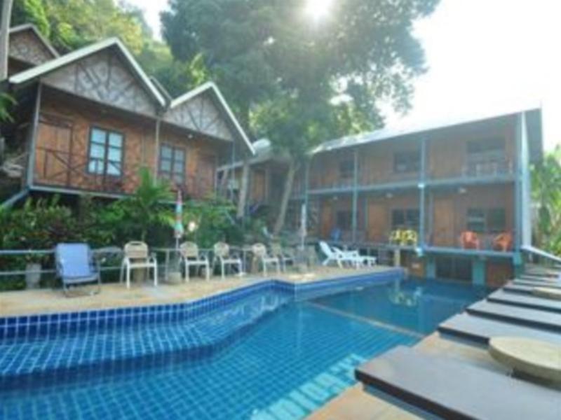 Hotell Golden Hill Bungalow i Ao Lo Dalam, Koh Phi Phi (Suratthani). Klicka för att läsa mer och skicka bokningsförfrågan