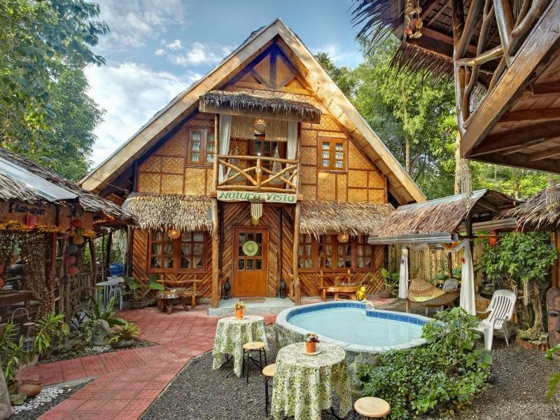 Natura Vista Bohol - Hotel z zewnątrz