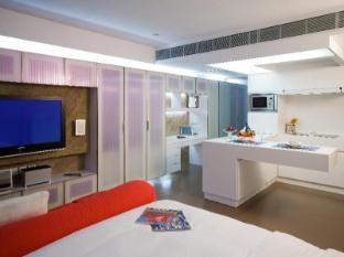 V Wanchai Hotel هونج كونج - غرفة الضيوف