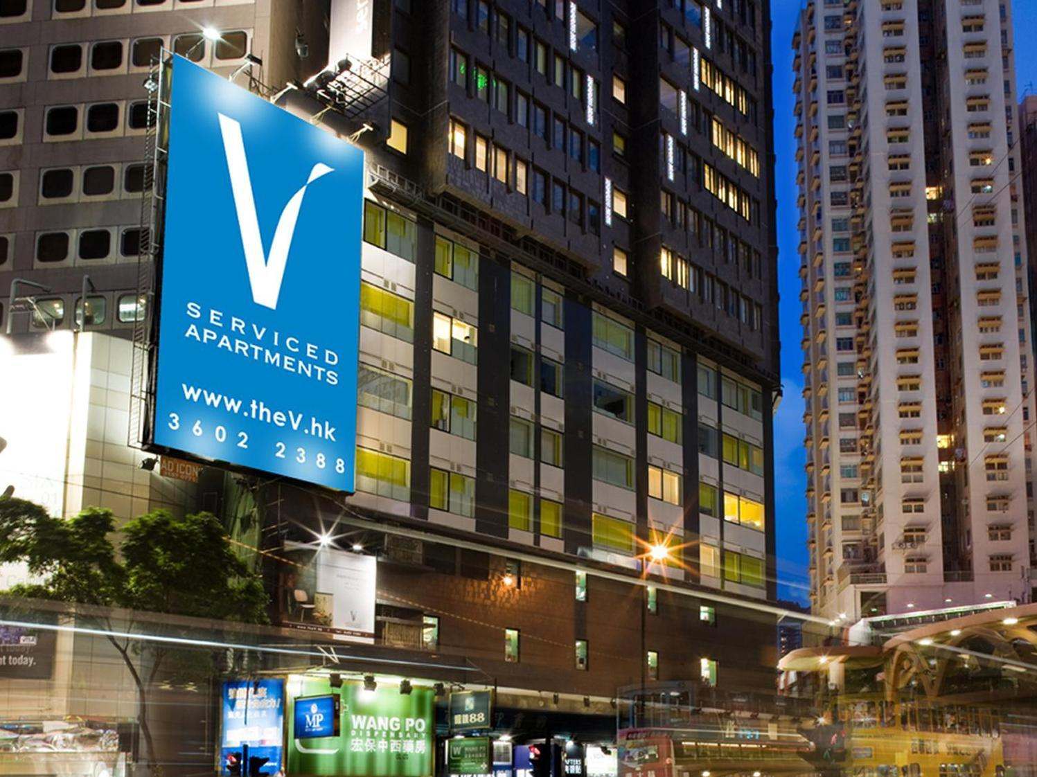 V Causeway Bay Serviced Apartments Honkonga