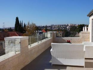 Tamar Residence Hotel Jerusalem - View from the Penthouse Balcony