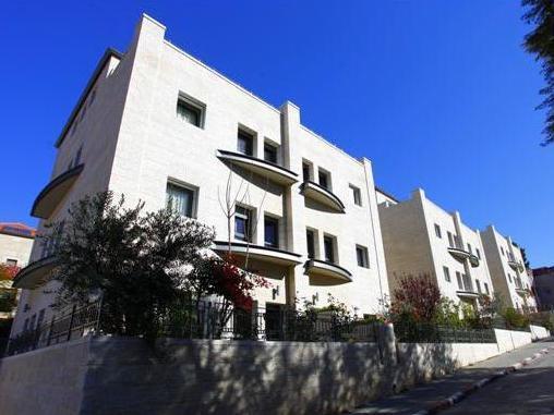 Tamar Residence Hotel Jerusalem - Hotel side view