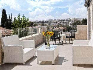 Tamar Residence Hotel Jerusalem - Penthouse Balcony