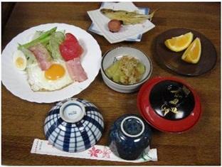 Osako Ryokan Shimane - Breakfast