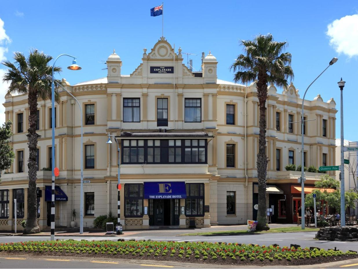 Esplanade Hotel - Hotels and Accommodation in New Zealand, Pacific Ocean And Australia