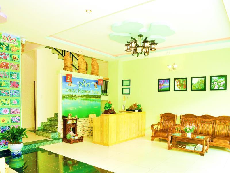Dalat Flower Hotel - Hotell och Boende i Vietnam , Dalat
